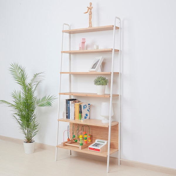 SVENARUM 스베나룸 선반유닛, 대나무, 80x180 cm