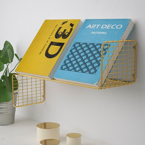 SVENSHULT 스벤스훌트 벽선반 IKEA 여러 개의 벽선반을 연결하여 벽을 개성 있는 패턴으로 구성해보세요. 메시 그물망에 머그컵, 책, 장식품도 충분히 올려놓을 수 있습니다.