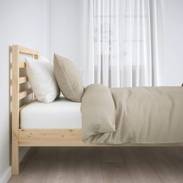 TARVA 타르바 침대프레임, 소나무/뢴세트, 120x200 cm