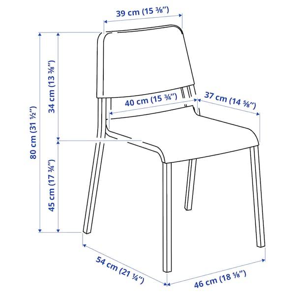 TEODORES 테오도레스 의자, 화이트