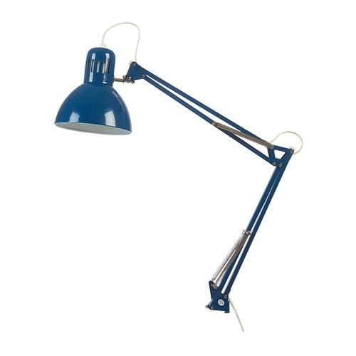 TERTIAL 테르티알 작업등 IKEA 조명의 각도를 자유롭게 조절하여 원하는 곳에 빛을 비출 수 있습니다.