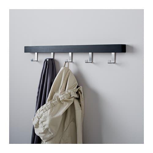 TJUSIG 슈시그 문/벽걸이 IKEA 두 가지 방식으로 설치가 가능합니다. 벽뿐만 아니라 문 위쪽에도 걸 수 있기 때문에 공간을 활용하며 옷과 벨트, 가방 등을 수납할 수 있습니다.