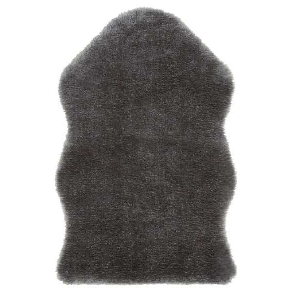 TOFTLUND 토프틀룬드 러그, 그레이, 55x85 cm