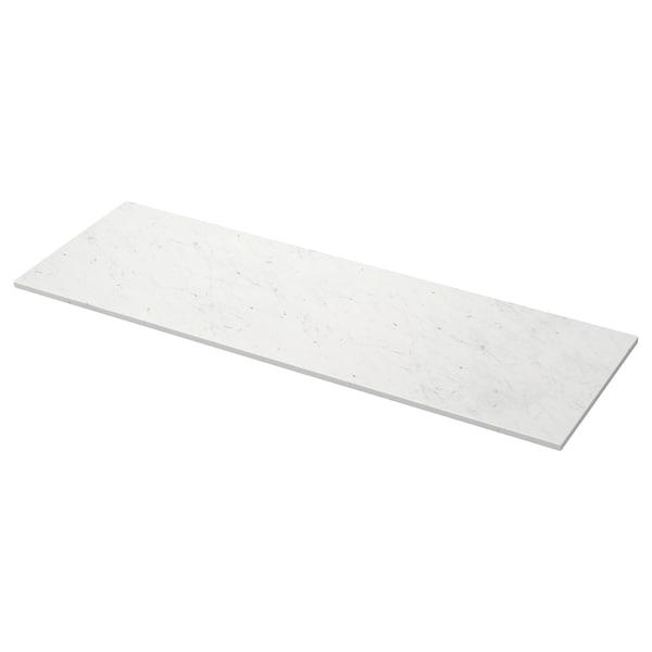 TOLKEN 톨켄 세면대상판, 대리석 효과, 162x49 cm