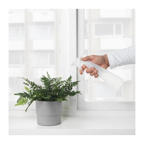 TOMAT 토마트 분무기 IKEA 물줄기의 세기를 조절할 수 있습니다.