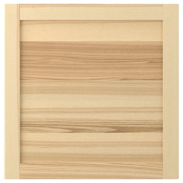 TORHAMN 토르함 도어, 내추럴 물푸레나무, 60x60 cm
