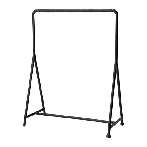 TURBO 투르보 옷걸이행거 IKEA 실내외 어디에서나 사용할 수 있습니다. 끼우고 빼는 방식으로 조립이 쉽습니다. 바퀴가 있어서 쉽게 옮길 수 있습니다.