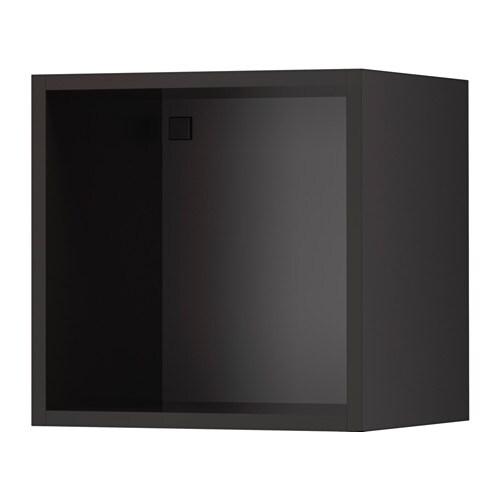 TUTEMO 투테모 선반장 IKEA 벽/하단 수납장 끝에 설치할 수도 있고 중간에 두고 오픈수납 솔루션으로 활용할 수도 있습니다. 10년 품질보증. 자세한 내용은 품질보증 브로슈어를 참조하세요.