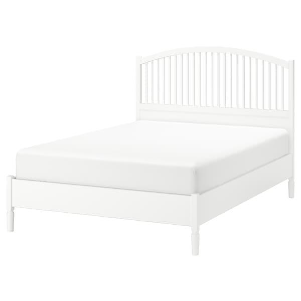 TYSSEDAL 튀세달 침대프레임, 화이트/뢴세트, 150x200 cm