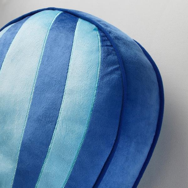UPPTÅG 웁토그 쿠션, 블루, 49x36 cm