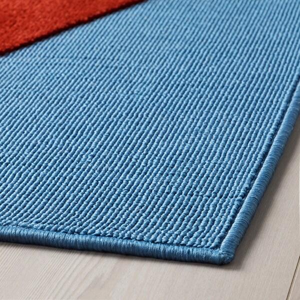 UPPTÅG 웁토그 러그, 보트 패턴, 133x160 cm