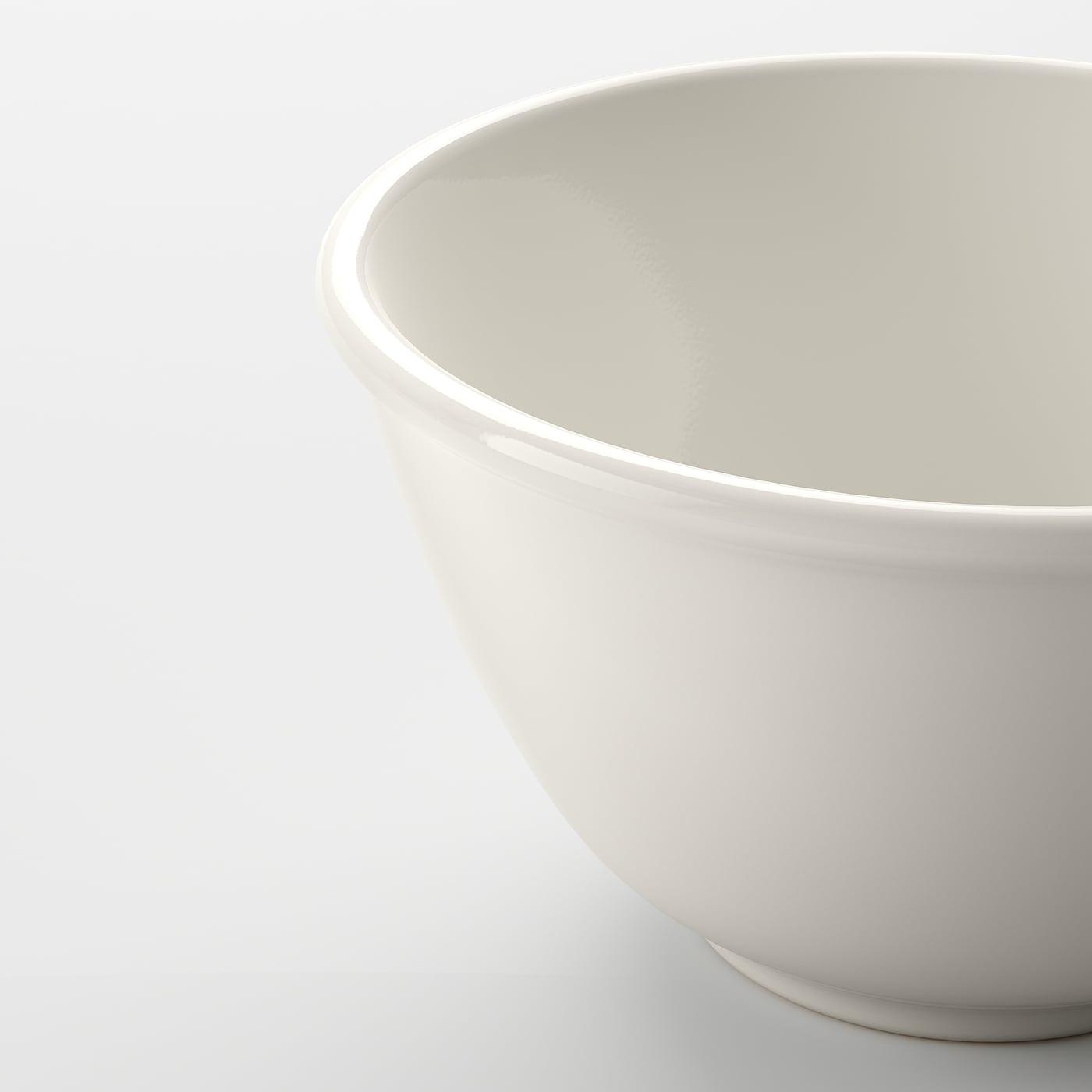 VARDAGEN 바르다겐 그릇, 오프화이트, 12 cm