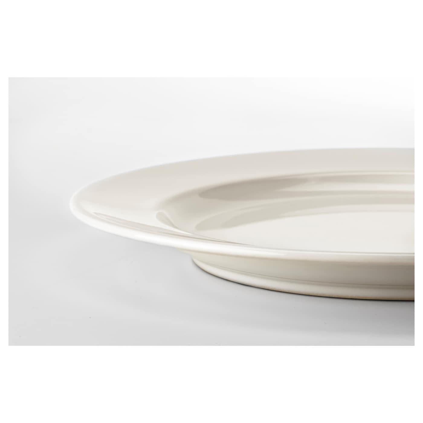 VARDAGEN 바르다겐 접시S, 오프화이트, 21 cm