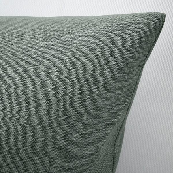 VIGDIS 비그디스 쿠션커버, 페일그린, 50x50 cm