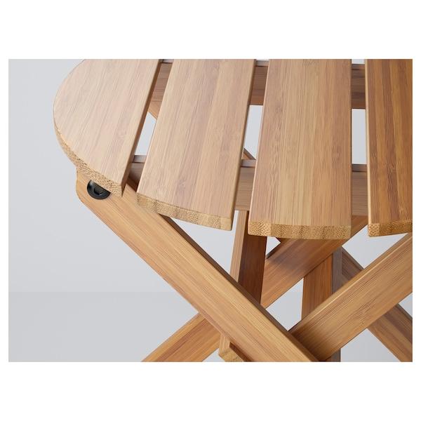 VILDAPEL 빌다펠 화분스탠드, 대나무, 29 cm