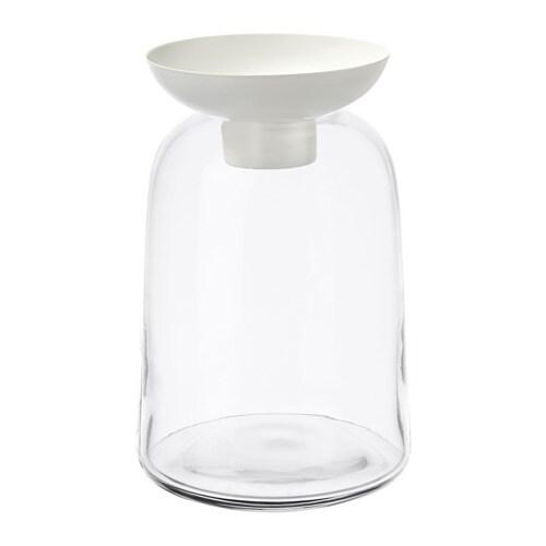 VINTER 2018 빈테르 2018 꽃병/미니양초홀더 IKEA 유리병과 메탈컵은 꺼내서 닦을 수 있습니다. 꽃병과 미니양초홀더로도 사용할 수 있는 다재다능한 제품입니다.