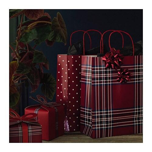 VINTER 2018 빈테르 2018 선물상자2종 IKEA 작은 크기의 선물을 담기에 좋은 상자입니다.
