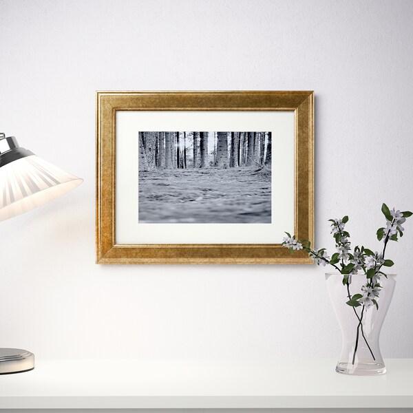 VIRSERUM 비르세룸 액자, 골드, 30x40 cm