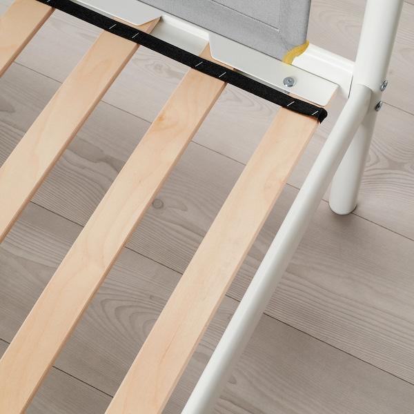 VITVAL 비트발 2층침대프레임, 화이트/라이트그레이, 90x200 cm