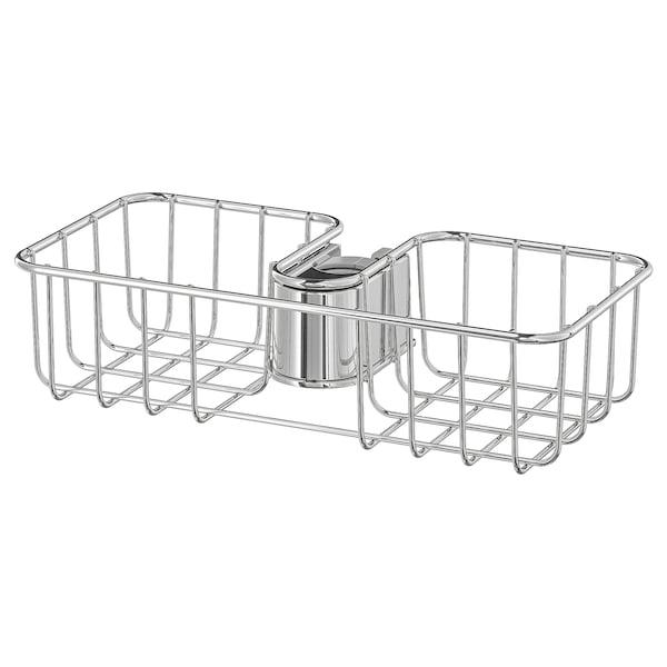 VOXNAN 복스난 샤워선반, 크롬도금, 25x6 cm