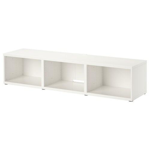 """BESTÅ طاولة تلفزيون أبيض 50 كلغ 180 سم 40 سم 38 سم 65 """""""