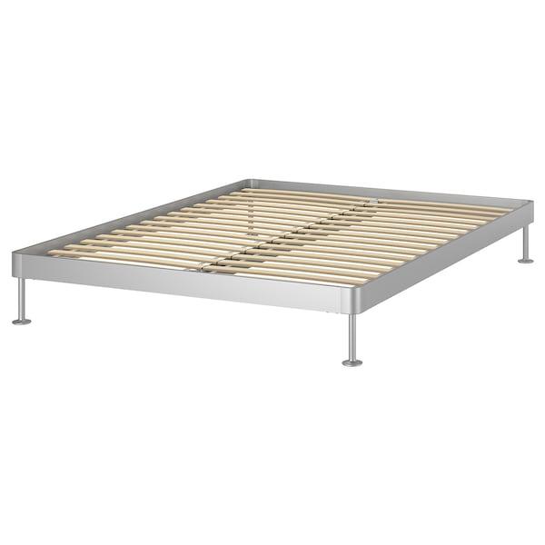 DELAKTIG هيكل سرير الومينيوم 204 سم 164 سم 29 سم 200 سم 160 سم