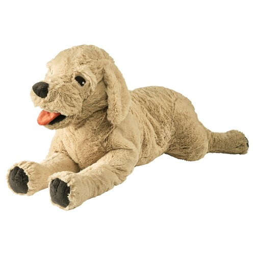 GOSIG GOLDEN دمية طرية كلب/المستردّ الذهبي 70 سم