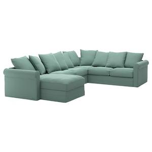 غطاء: مع أريكة طويلة/ljungen أخضر فاتح.