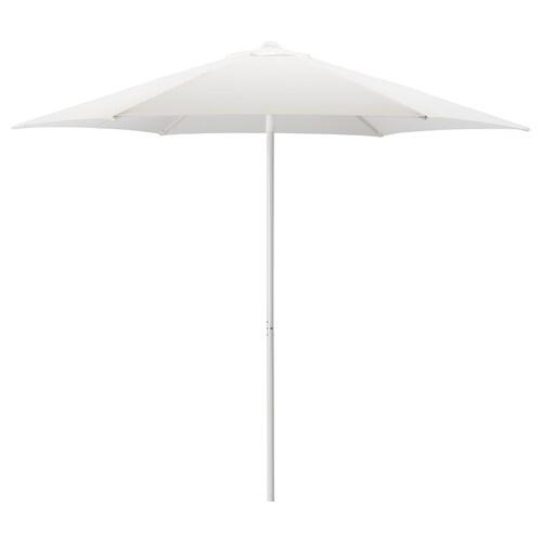 HÖGÖN مظلة أبيض 170 g/m² 239 سم 270 سم 38 مم