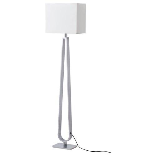 KLABB مصباح ارضي أبيض-عاجي 13 واط 36 سم 1.5 م 2.2 م