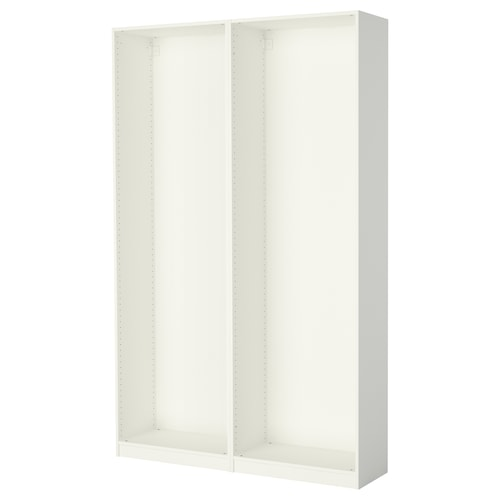 PAX هيكلي دولاب ملابس أبيض 149.6 سم 35.0 سم 236.4 سم