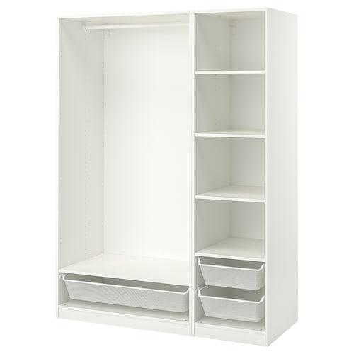 PAX تشكيلة دولاب ملابس. أبيض 150.0 سم 58.0 سم 201.0 سم