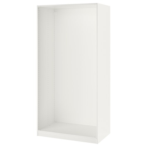 PAX هيكل دولاب ملابس أبيض 99.8 سم 100 سم 58.0 سم 201.2 سم 58 سم 201 سم
