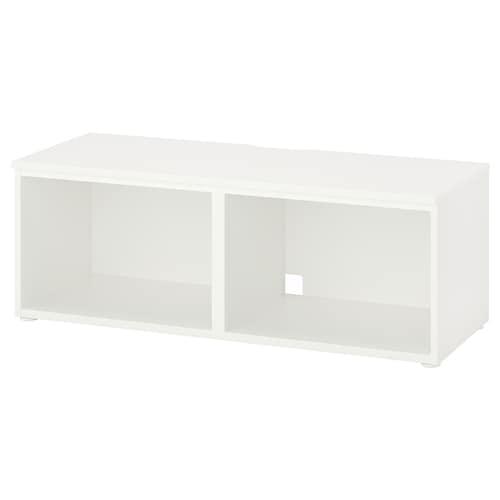 PLATSA طاولة تلفزيون أبيض 30 كلغ 120 سم 42 سم 44 سم