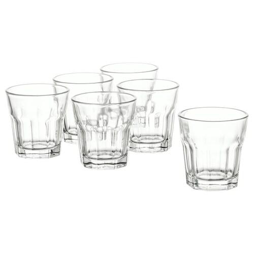 POKAL كأس زجاج شفاف 5 سم 5 سل 6 قطعة
