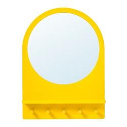 SALTRÖD مرآة مع رف وخطافات