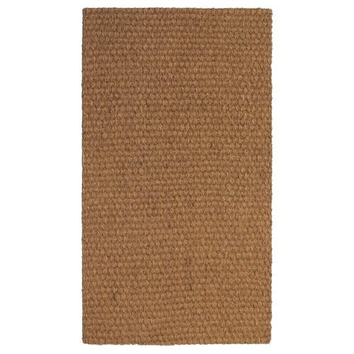 SINDAL سجادة باب طبيعي 80 سم 50 سم 12 مم 0.40 م² 2125 g/m²