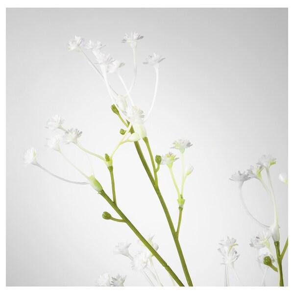 SMYCKA زهرة صناعية زهور نسمة الطفل/أبيض 60 سم