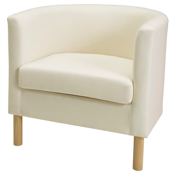 SOLSTA OLARP كرسي بذراعين Ransta طبيعي 66 سم 62 سم 63 سم 48 سم 50 سم 40 سم