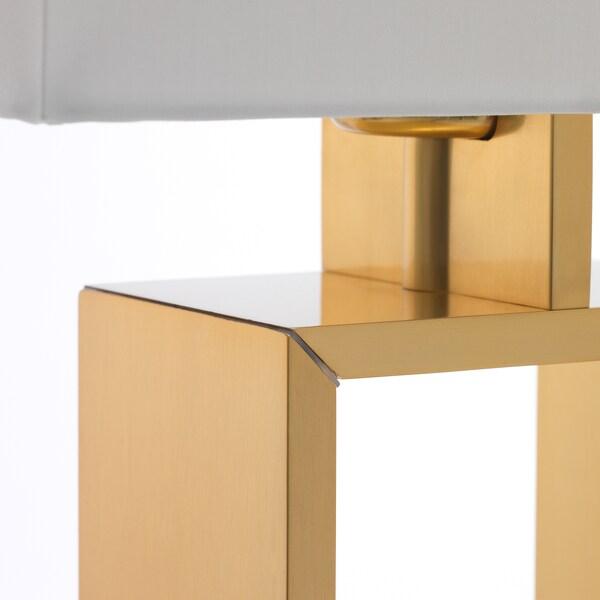 STILTJE مصباح طاولة أبيض-عاجي/لون نحاسي 13 واط 24.5 سم 59 سم 1.9 م