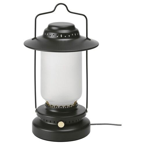 STORHAGA مصباح طاولة LED خافتة للضوء خارجي/أسود 55 لومن 35 سم 15 سم 1.5 م 3.5 واط