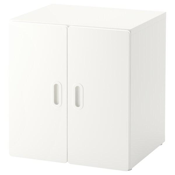 STUVA / FRITIDS خزانة أبيض/أبيض 60 سم 50 سم 64 سم