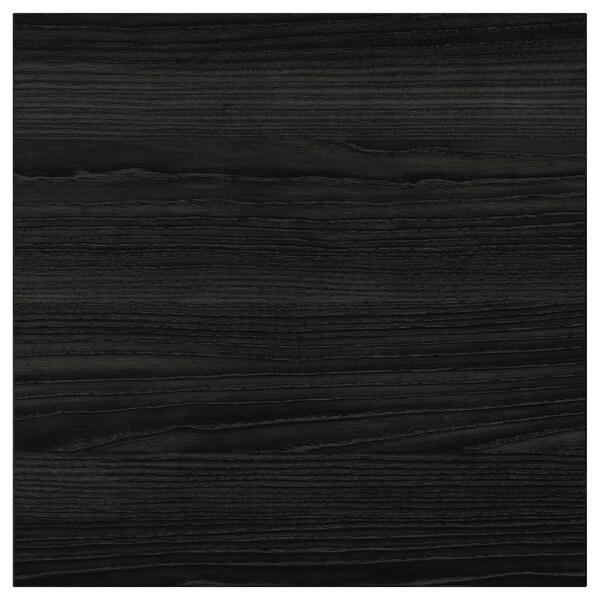 TINGSRYD واجهة دُرج مظهر الخشب أسود 39.7 سم 40 سم 40 سم 39.7 سم 1.6 سم