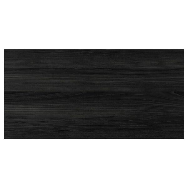 TINGSRYD واجهة دُرج مظهر الخشب أسود 79.7 سم 40 سم 80 سم 39.7 سم 1.6 سم