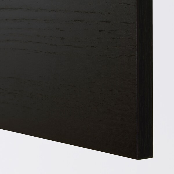 TINGSRYD واجهة دُرج مظهر الخشب أسود 39.7 سم 20 سم 40 سم 19.7 سم 1.6 سم
