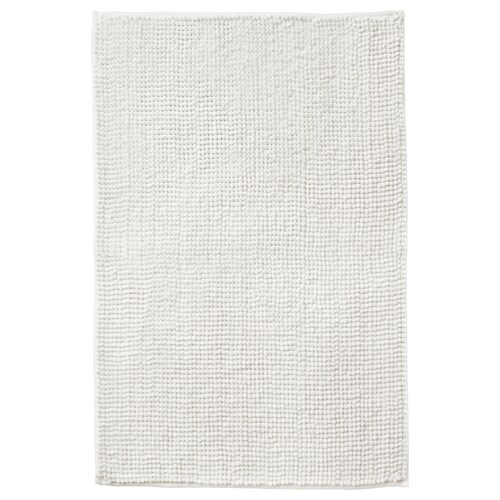 TOFTBO دعّاسة للحمّام أبيض 80 سم 50 سم 0.40 م² 1410 g/m²