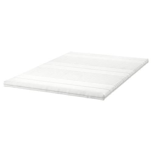 TUSSÖY لبادة مرتبة أبيض 200 سم 140 سم 8 سم