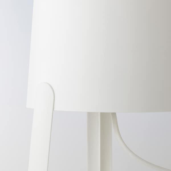 TVÄRS مصباح طاولة أبيض 7 واط 27 سم 18 سم 1.4 م