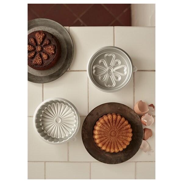 VARDAGEN صينية خبز لون-فضي 0.5 ل 2 قطعة