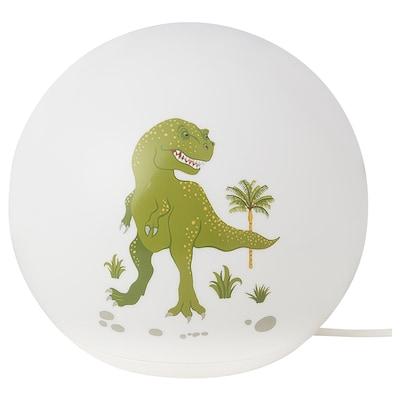 ÄNGARNA مصباح طاولة LED, ديناصور